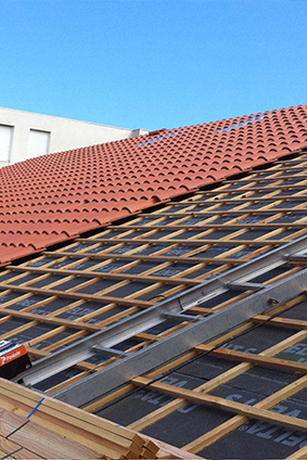 prix reparation de toiture   margency
